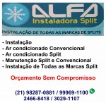 ALFA INSTALADORA SPLIT – Ilha do Governador