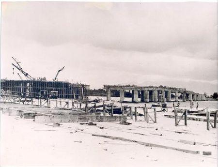 Galeão – Construção da Ponte – 1948